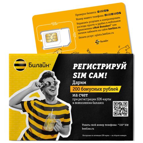 Сим-карта Билайн. Тариф для Пскова и Псковской области