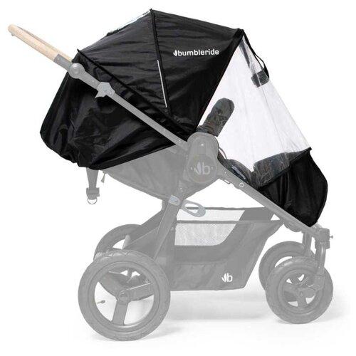 Купить Bumbleride Дождевик Era Non-PVC Rain Cover черный/прозрачный, Аксессуары для колясок и автокресел