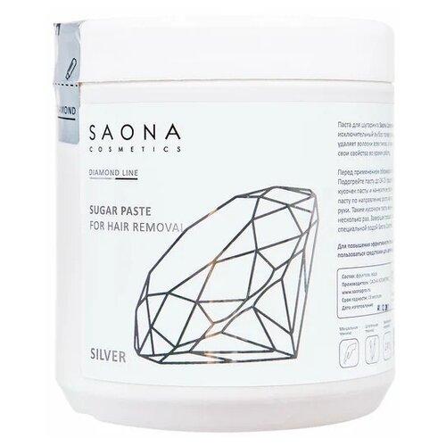 Паста для шугаринга Saona Cosmetics Diamond Line Silver 1000 г
