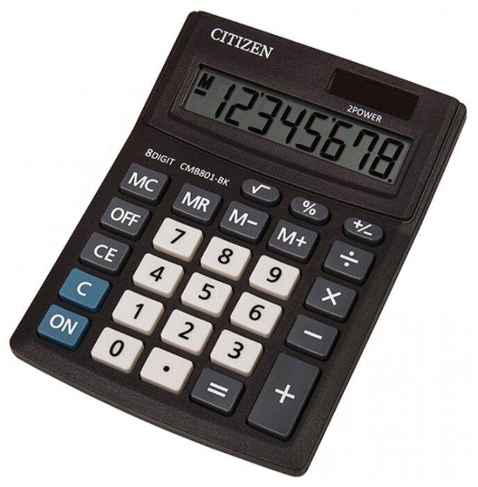 Калькулятор настольный CITIZEN CMB801-BK
