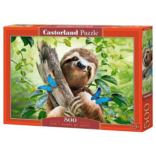 Купить Пазл Castorland Don't Hurry be Happy (B-53223), 500 дет., Пазлы