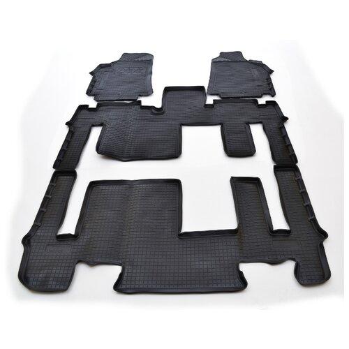 Комплект ковриков NorPlast NPA00-C31-170 4 шт. черный