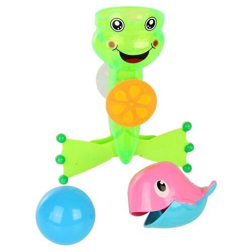 Купить Набор для ванной Ути-Пути 61564 зеленый/голубой/розовый, Игрушки для ванной