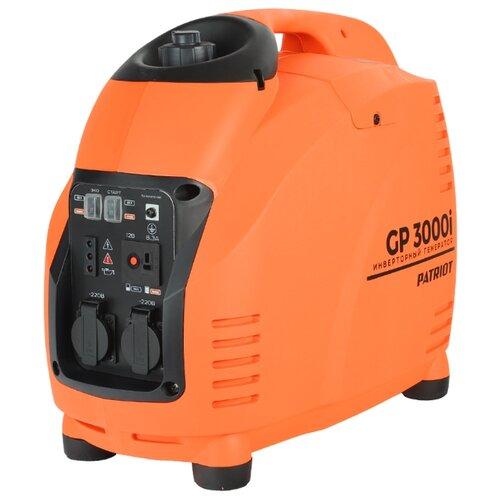 Бензиновый генератор PATRIOT GP 3000i (3000 Вт) patriot 3000i