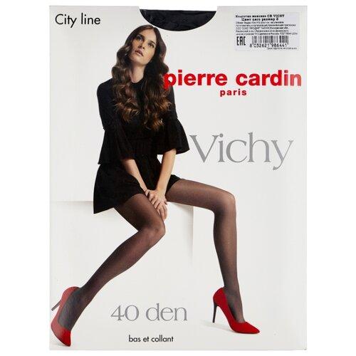 Колготки Pierre Cardin Vichy, City Line 40 den, размер III-M, nero (черный)