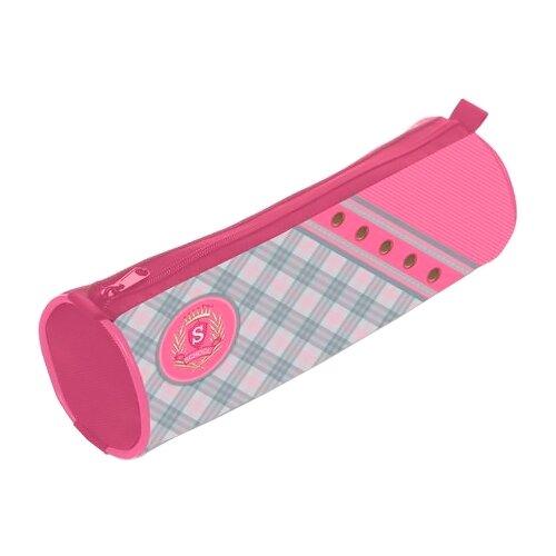 Hatber Пенал-тубус Нежная клеточка (Npt_40169) розовый