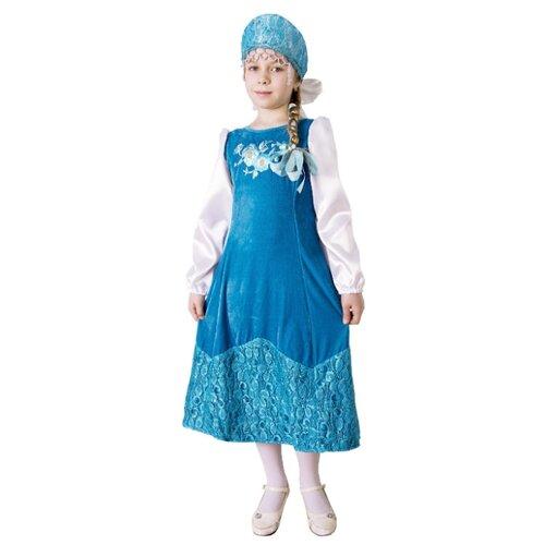 Купить Костюм Elite CLASSIC Марья Искусница, голубой, размер 30 (122), Карнавальные костюмы