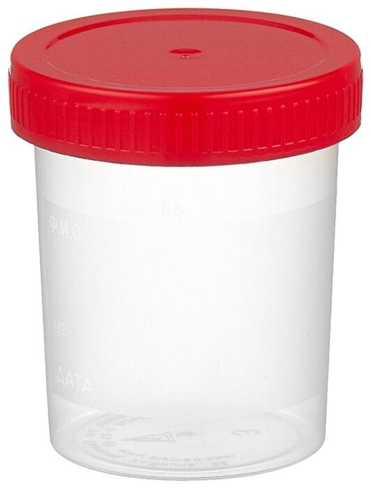 ЕЛАМЕД контейнер для биопроб (стерильный) 100 мл