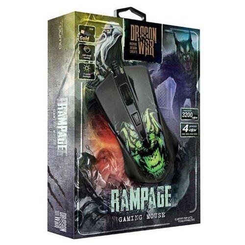 Мышь Qumo Dragon War Rampage M49 проводная игровая с подсветкой для PC по цене 899