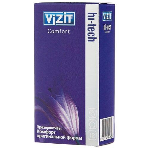 Презервативы Vizit Hi-Tech Comfort (12 шт.)