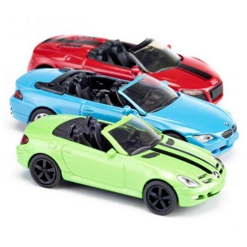 Фото - Набор машин Siku 6314 голубой/красный/салатовый набор машин siku паром для