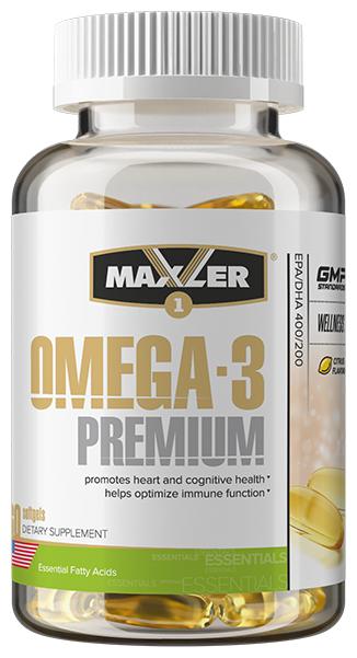 Омега жирные кислоты Maxler Omega 3 Premium (60 капсул)