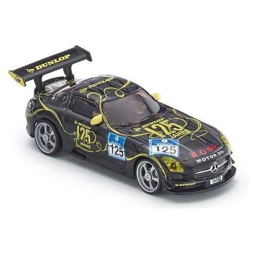 Гоночная машина Siku Mercedes-Benz SLS AMG GT3 (6823) 1:43 10.5 см черный, Радиоуправляемые игрушки  - купить со скидкой