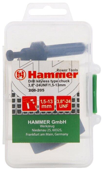 Переходник с патроном Hammerflex 208-205
