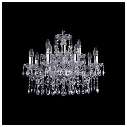 Люстра Bohemia Ivele Crystal 1413 1413/8+4/200/Ni, E14, 480 Вт люстра bohemia ivele crystal 1716 8 8 4 265b gb