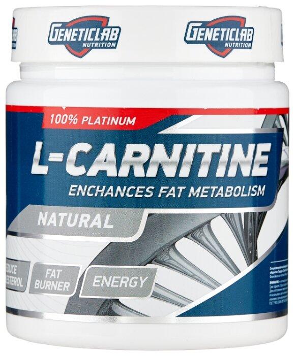 Жиросжигатель GENETICLAB L-Carnitine Powder яблоко, 150 гр