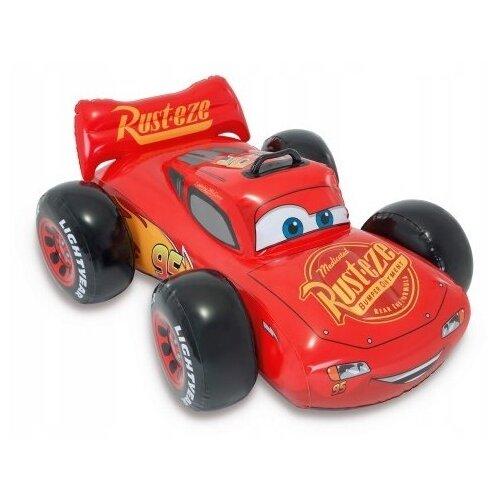Купить Надувная машина Intex Ride On Тачки 57516 красный/черный, Надувные игрушки