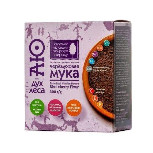 Фото - Мука Аю - дух леса черёмуховая, 0.3 кг мыло кусковое кедровое с льняным маслом аю дух леса 115 г