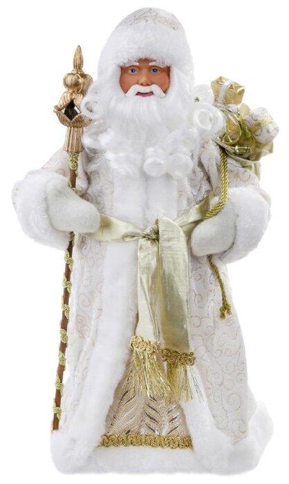 Фигурка праздничная Magic Time Дед Мороз в золотом костюме, 80148, золотистый, 20,5 х 12,5 х 41 см