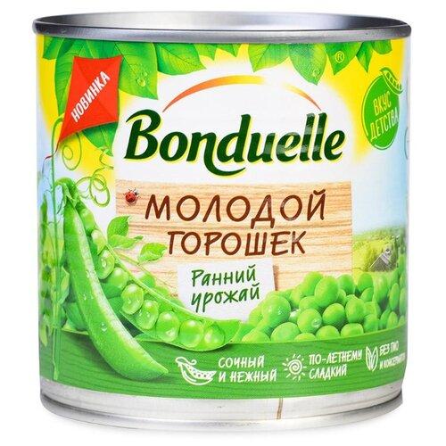 Зеленый горошек Bonduelle Молодой, жестяная банка 425 мл зеленый горошек bonduelle classique нежный стеклянная банка 530 г