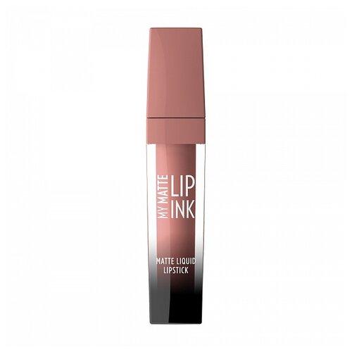 Купить Golden Rose жидкая помада для губ My Matte Lip Ink, оттенок 03