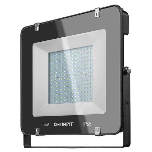 Прожектор светодиодный 200 Вт ОНЛАЙТ OFL-200-6.5K-BL-IP65-LED