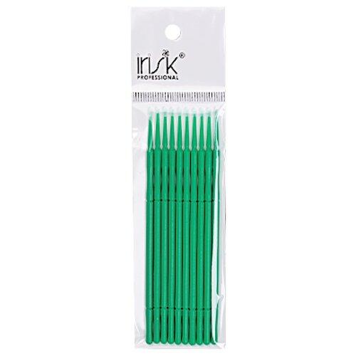 Irisk Professional Микрощеточки в пакете, M, 10 шт. зеленый