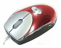 Мышь A4Tech MOP-18 Red USB+RS/2