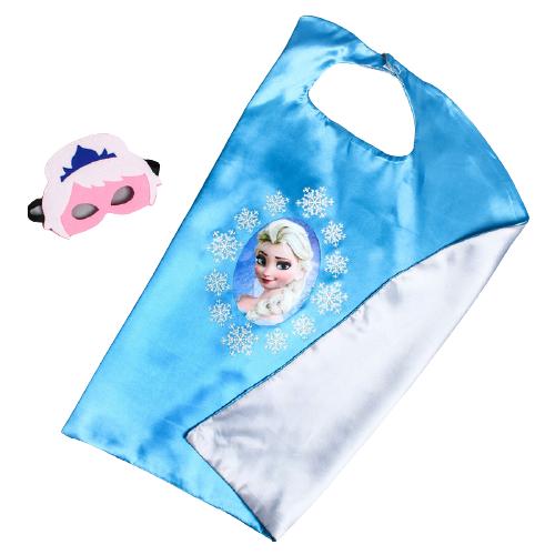 Купить Карнавальный набор Shantou Chenghai Yibao Toys Factory Почувствуй себя принцессой! Холодное сердце: Эльза (4527248), голубой/серебристый, Карнавальные костюмы