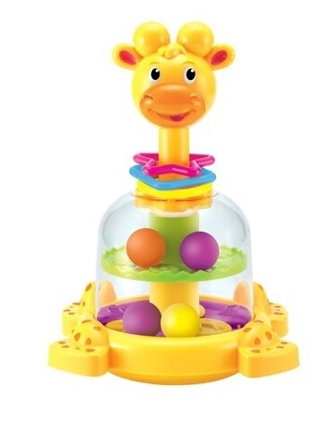 Юла-карусель Junfa toys Жирафик (SL83058)