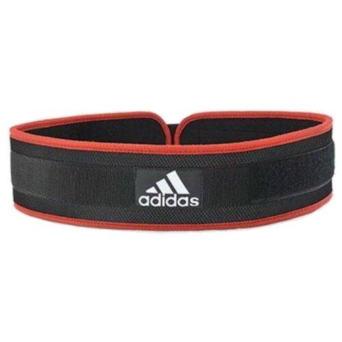 Пояс adidas Nylon Lumbar Belt черный/красный XXL