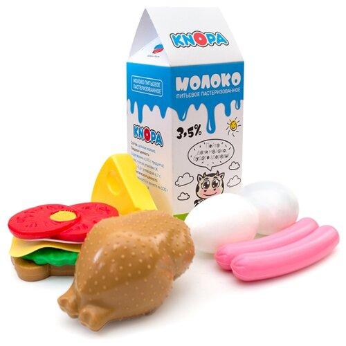 Купить Набор продуктов Knopa Плотный завтрак 87059 разноцветный, Игрушечная еда и посуда