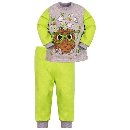 Комплект одежды Утенок размер 86, салатовый/меланж