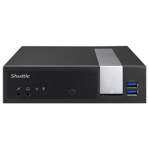 Купить Платформа Shuttle DL10J Tiny-Desktop/Intel Celeron J4005/без ОЗУ/Intel UHD Graphics 600/ОС не установлена черный