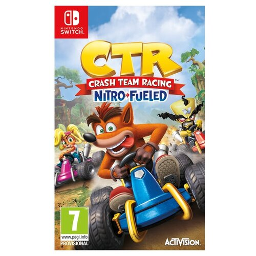 Игра для Nintendo Switch Crash Team Racing Nitro-Fueled геймпад nintendo switch pro controller
