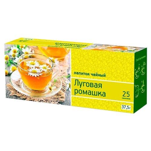 Чай зеленый Императорский чай Луговая ромашка в пакетиках , 25 шт. фото