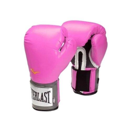 боксерские перчатки everlast pu pro style anti mb red 12 oz Боксерские перчатки Everlast PU Pro style anti-MB pink 12 oz