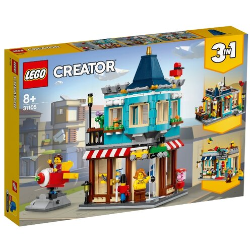 Конструктор LEGO Creator 31105 Городской магазин игрушек конструктор creator lego lego mp002xb00cac