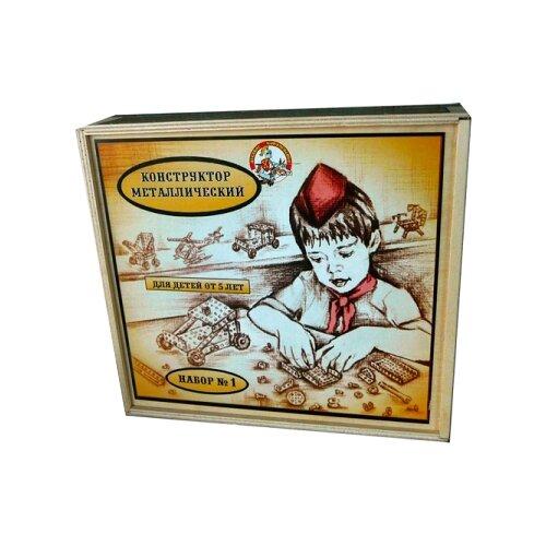 Конструктор Десятое королевство металлический для уроков труда 00980 №1 в деревянной упаковке конструктор десятое королевство металлический для уроков труда 00841 1