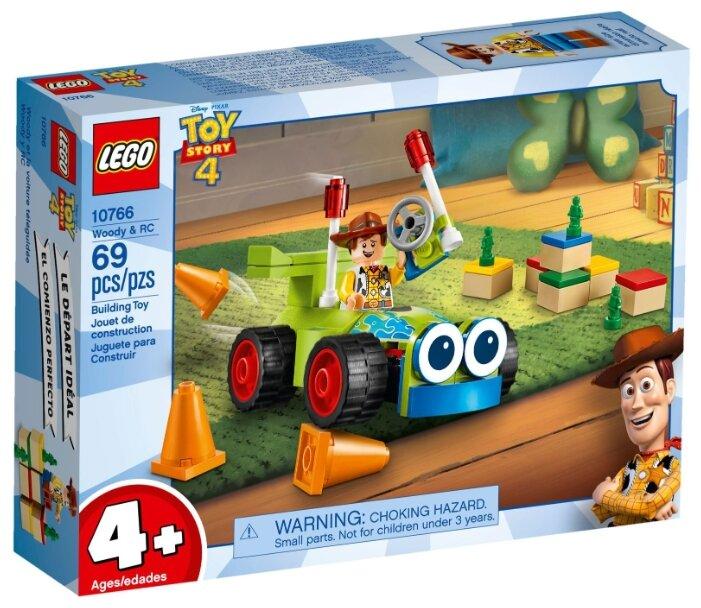 Конструктор LEGO Toy Story 10766 Вуди на автомобиле
