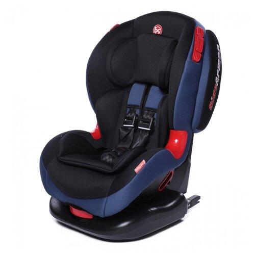 Автокресло группа 1/2 (9-25 кг) Baby Care BC-120 Isofix, синий группа 1 2 от 9 до 25 кг baby care bc 120 isofix