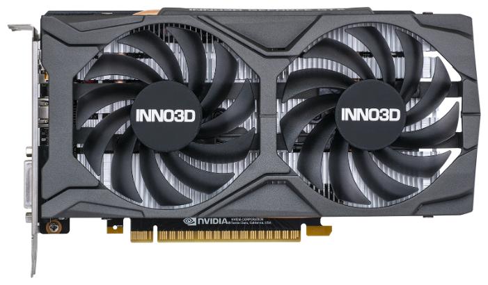 Видеокарта INNO3D GeForce GTX 1650 SUPER 1755MHz PCI-E 3.0 4096MB 12000MHz 128 bit DVI DisplayPort HDMI HDCP TWIN X2 OC — купить по выгодной цене на Яндекс.Маркете
