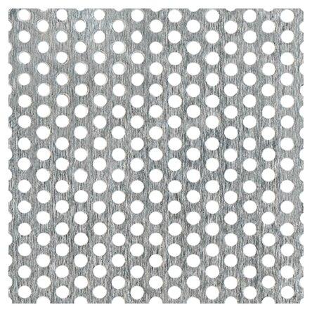 Лист перфорированный алюминиевый GAH ALBERTS 466961 1000х200 мм