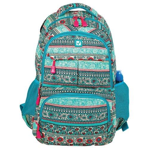 Купить BRAUBERG Рюкзак Индия (226355), бирюзовый, Рюкзаки, ранцы