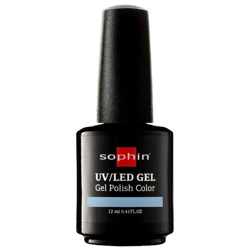 Гель-лак для ногтей Sophin Gel Polish, 12 мл, оттенок 0713 alpine blue средство для укрепления ногтей с кальцием sophin calcium builder gel 12 мл