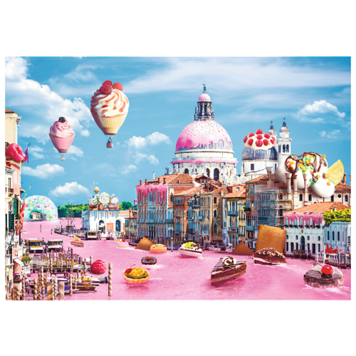 Пазлы 1000 деталей Сладости в Венеции пазлы 1000 деталей сладости в венеции