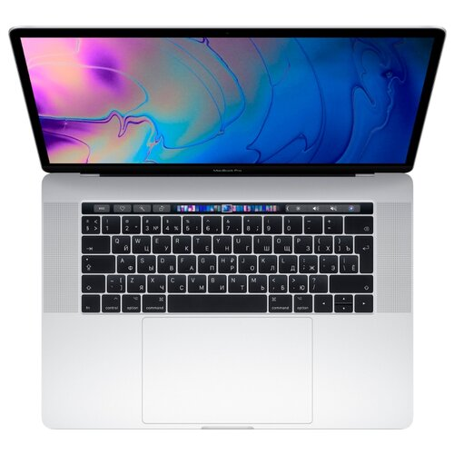 Купить Ноутбук Apple MacBook Pro 15 with Retina display Mid 2019 (Intel Core i9 2300 MHz/15.4 /2880x1800/16GB/512GB SSD/DVD нет/AMD Radeon Pro 560X 4GB/Wi-Fi/Bluetooth/macOS) MV932RU/A серебристый