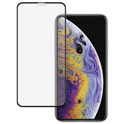 Купить Защитное стекло HARDIZ Full Screen Cover Premium Tempered Glass для Apple iPhone X черный