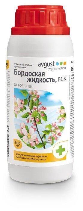 Avgust Бордоская жидкость от комплекса болезней, 500 мл — купить по выгодной цене на Яндекс.Маркете