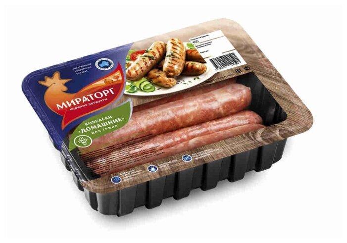 Мираторг Колбаски куриные для гриля Домашние